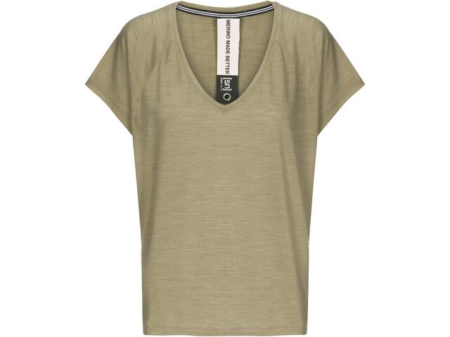 super.natural Jonser Camiseta Mujer, bamboo melange